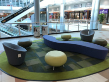 Princes Quay public seating in Hull