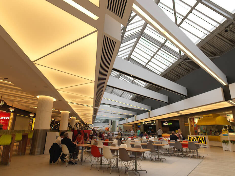 Intu Food court furniture
