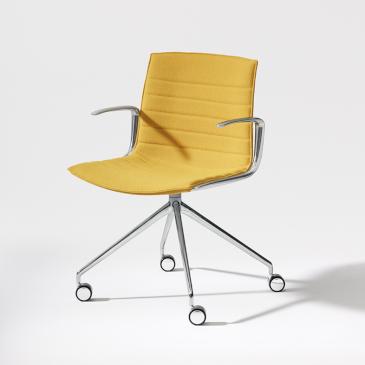 Catifa Up chair yellow