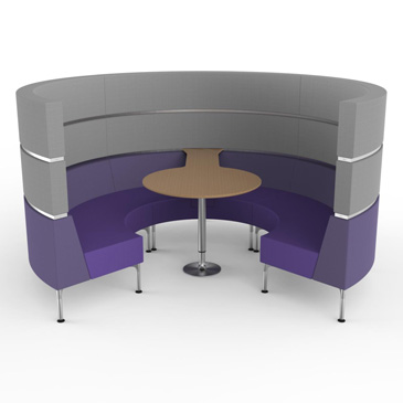 Hive with legs meeting space, from Roger Webb Associates