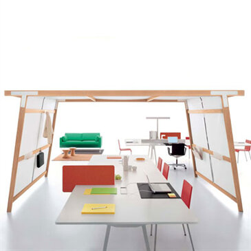 Joyn Hut from Ronan and Erwan Bouroullec for Vitra.