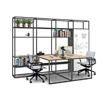 Kado desks with storage space
