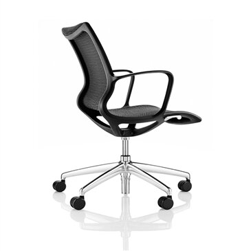 Kara Meeting Chair in Black