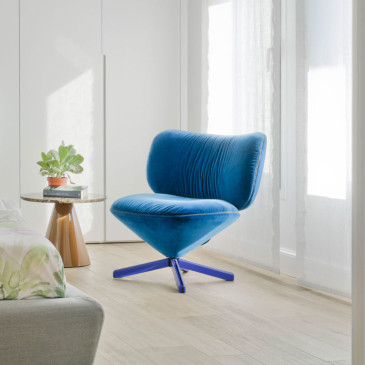 Sancal Tortuga chair teal velvet