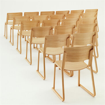 Theo Wood Stacking Chair ... & Theo Wood Stacking Chair | Working Environments