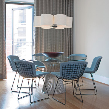 Bertoia Meeting chairs