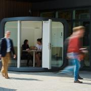office pod outdoors