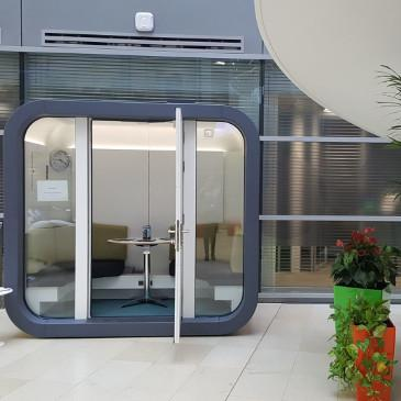 small outdoor office homeworking pod
