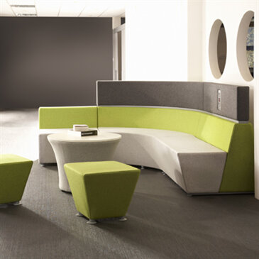 Hive Modular seating, from Roger Webb Associates.