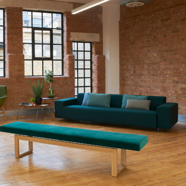 Hitch Mylius hm17 Mode sofa in teal