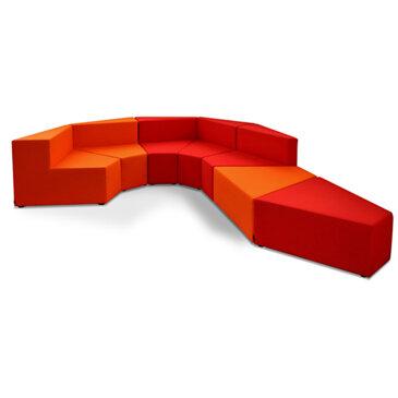 HM77 modular seating, by Kazuko Okamoto.