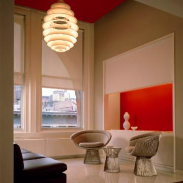 Platner side chairs in office