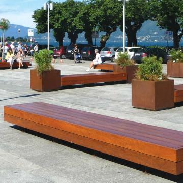 Big Harris & Big Harris Isola bench