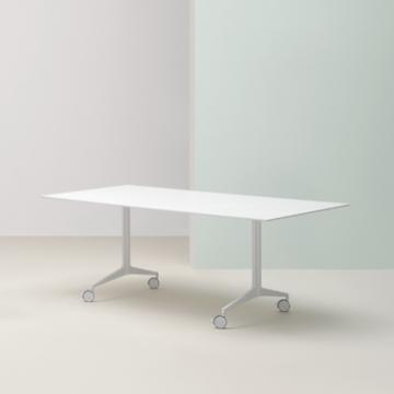Pedrali Ypsilon table in white