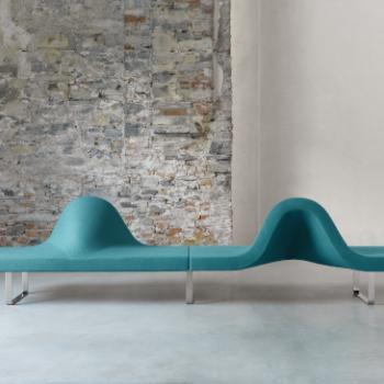 Segis Longway green bench