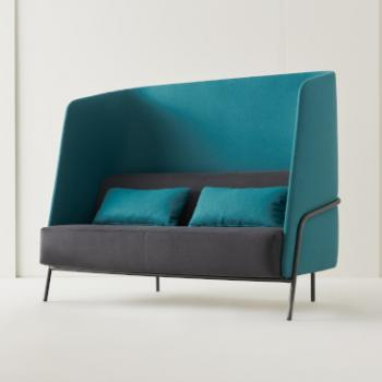 Segis Noldor sofa grey and turquoise