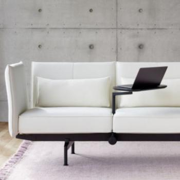 Vitra Soft Work modern working space in white 2