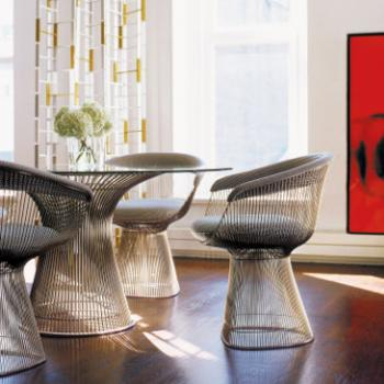 Grey Platner side chair