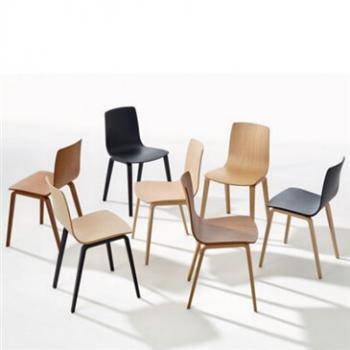 Group of Aava chairs in a variety of colours