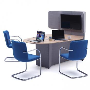 Away from the desk meeting hub
