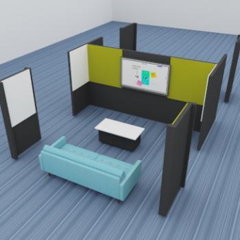 Morph presents double collaboration area