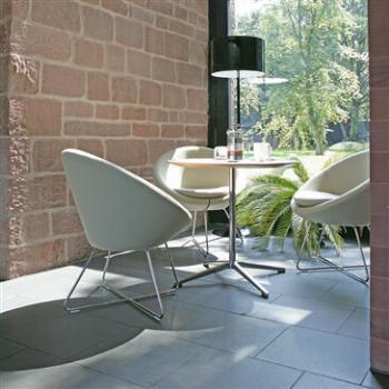 Conic armchair