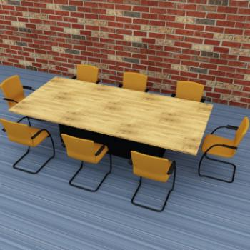 Morph meeting room table