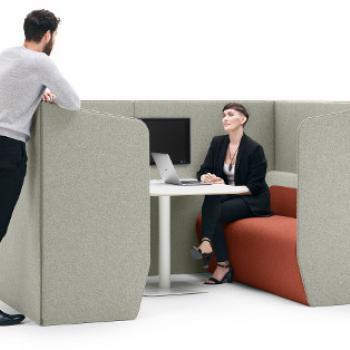Boss Hemm 4 seat booth