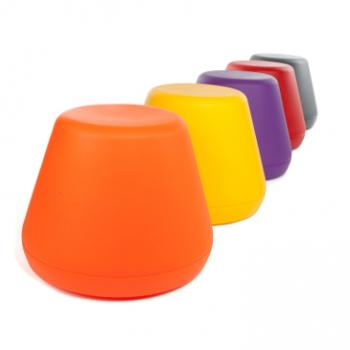 Hyde outside stacking plastic stools colour options