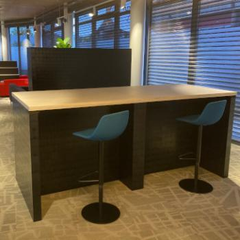 Morph high table with double thickness ply top