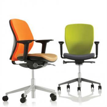 Joy and Joy High Back Chairs, from Orangebox.