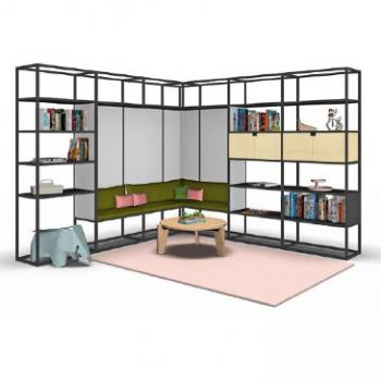Kado storage with seating