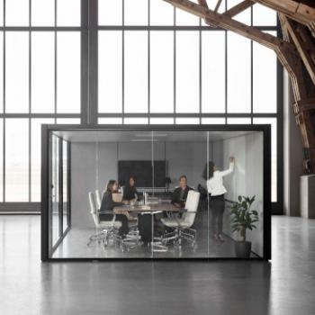 large cell pod meeting room