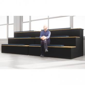 Giant Morph tiered seating