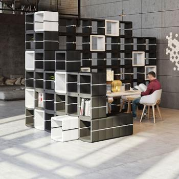 Movisi U-Cube modular office furniture storage and dividers