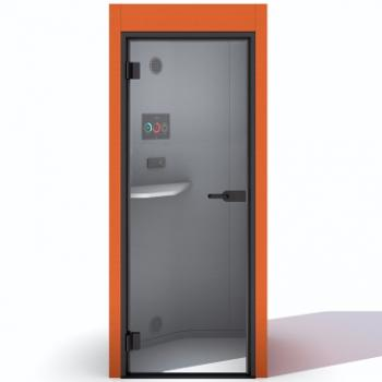 Oasis soft phone booth in orange