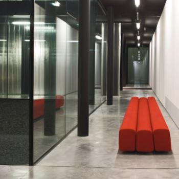 LaCividina Osaka sofa straight line in red