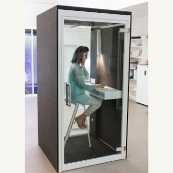 Phonespace pod in use