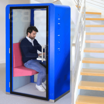 Blue SBS seat box