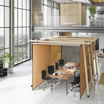 Skyroom Office modular mobile meeting space