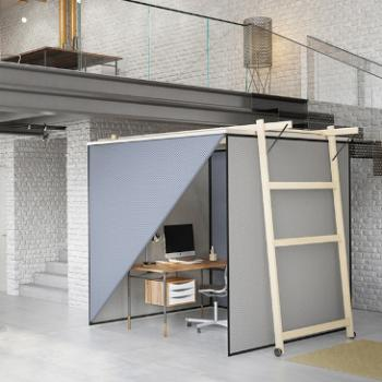 Skyroom Office modular moveable office environment