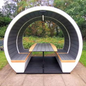Meeting pod Outdoor open unit