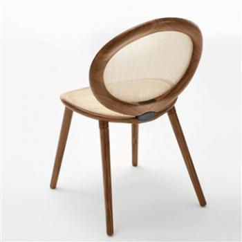 Jonathan Chair, designed by Paolo Nava