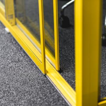 Groupspace double glazed door detail