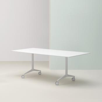 Pedrali Ypsilon table in white