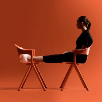 Axyl chairs in Orange