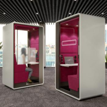 Hush Hybrids white exteriors pink interiors