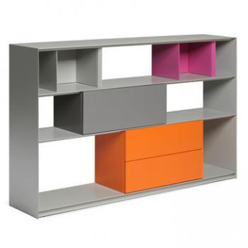 Stack modular storage system