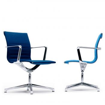 Una Meeting chairs with arms 4 star base