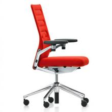 Dark orange AC4 Chair with metallic features